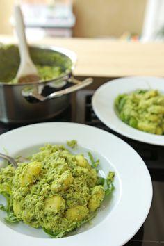 Pasta Met Broccoli, Broccoli Pesto, Pesto Pasta, Vegan Pasta, Guacamole, Healthy Recipes, Healthy Food, Dinner, Vegetables