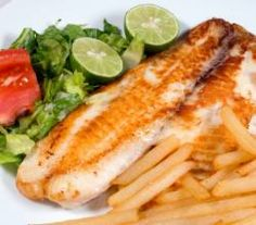 Pan fried basa fillets marinated in fish sauce and a variety of ingredients is the perfect answer for a Sunday lunch. This recipe is just right for you if. Basa Fillet Recipes, Basa Fish Recipes, Prawn Recipes, Seafood Recipes, Dinner Recipes, Cooking Recipes, Dinner Ideas, Cooking Fish, Cooking Ideas