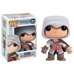 Funko POP Games Assassin's Creed Ezio Action Figure http://popvinyl.net #funko #funkopop #popvinyl