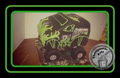 Monster truck cake. Therapeutic Arts
