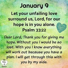 Daily Scripture, Daily Devotional, Daily Christian Prayers, Christian Life, January Quotes, Christian Affirmations, Psalm 33, Prayer Verses, Bible Scriptures