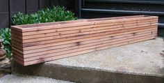 Garden And Patio Large Cedar Wood Raised Garden Planter Boxes With ...