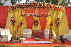 indian wedding flowers decorations - Google Search