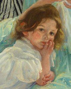 Young Mother Sewing, 1900  Mary Cassatt (American, 1844–1926)  Oil on canvas  36 3/8 x 29 in. (92.4 x 73.7 cm)