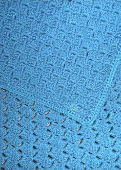 [Free Pattern] Learn A New Crochet Stitch: Crazy Stitch Afghan