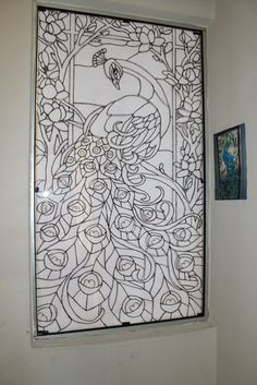 1000 images about stained glass designs on pinterest for Glass painting templates