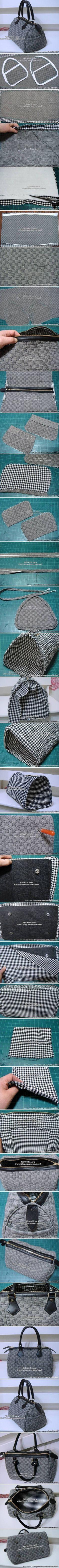 DIY Nice Fashionable Handbag fashion nice handbag diy easy crafts diy ideas diy crafts do it yourself easy diy diy handbag diy purse craft fashion easy diy craft ideas