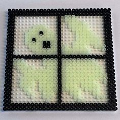 Halloween Ghost hama  perler beads