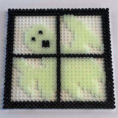 Halloween Ghost hama  perler beads