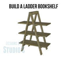 Build an A-Frame Bookshelf with These DIY Plans This is really one of the coolest bookshelves I've seen. To me it is only a bookshelf in name! It can be used to organize bins of toys in the kiddos ...