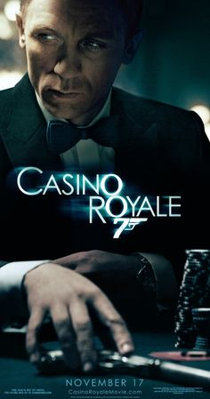 Casino Royale (2006) the movie that rebooted the 007 franchise.  Daniel Craig's Bond is deadly and vulnerable and he doesn't play for laughs.  Quite possibly the best Bond movie of all.