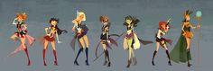 Sailor Avengers Assemble! . Ann Marcellino