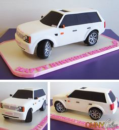Range Rover Cake I think I'm in LOVE with this cake. Lol