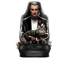 "Autositzbezug Travel Mate für Sitzlehne ""The Godfather"" 1 Stück Godfather 1, Batman, Superhero, Travel, Fictional Characters, Viajes, Traveling, Trips, Tourism"
