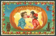 Halloween apple game