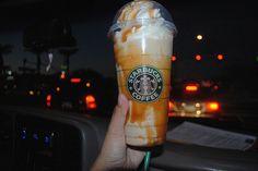 Starbucks camel frapp