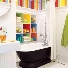Cute Kid's Bathroom Idea