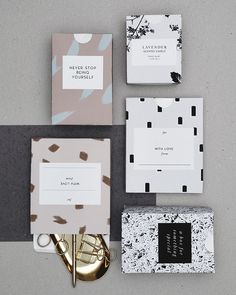 Personal #packaging ideas. Love the unique patterns!