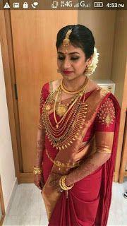 Wedding Saree and South Indian Bride