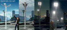 SOLAR FLOWER PETAL Sustainable City, Flower Petals, City Lights, Product Design, Wind Turbine, Sustainability, Solar, Nature, Inspiration