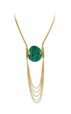 Pradia Necklace - Green