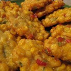 Corn Fritter ( Perkedel Jagung)