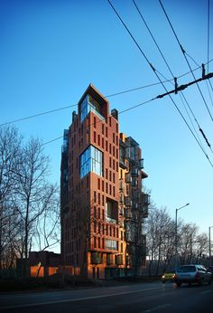 Join buildyful.com - the global place for architecture students.~~Red Apple Apartment Building  / Aedes Studio