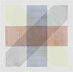 SOL LEWITT Untitled, from Bands of Color in Four Directions & All Combinations portfolio, 1971- etching in colors, on Rives BFK paper, ed.25