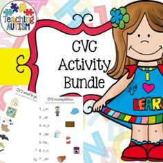 CVC Activity BundleThis huge $$ saving bundle is packed full of great CVC activities that your students will find engaging and fun!Included is: Gum Ball SortingStudents have to match the medial sound of the CVC word on the gum ball into the correct/matching gum ball machine.