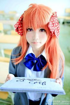 Sakura cosplay from Gekkan Shoujo Nozaki-kun   Cosplay   Pinterest