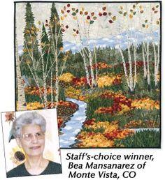 Create a Landscape Keepsake Challenge Staff's Choice Winner - Bea Mansanarez of Monte Vista, CO