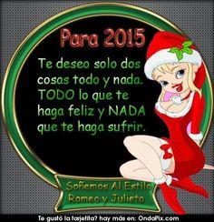 Para el 2015 te deseo..