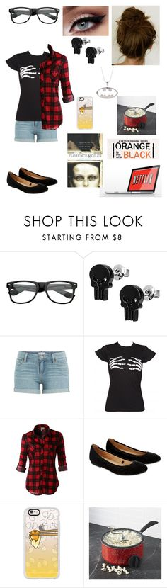 """""""Resume of my Sunday"""" by nebulaprime ❤ liked on Polyvore featuring beauty, ZeroUV, Marvel Comics, Paige Denim, LE3NO, Accessorize, Casetify, Giles and Crate and Barrel"""
