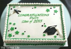 Graduation cake...inspired by Corriecakes