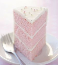 Pink Almond Party Cake - Desserts Sweets,desserts sweets