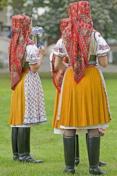 Folk costumes of South Moravia, Czech Republic by Mary C Legg