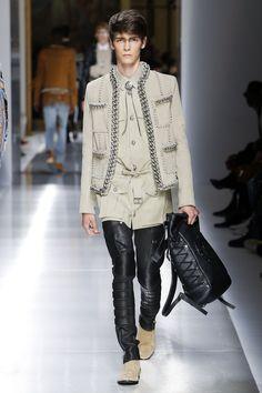Balmain Spring 2018 Menswear Fashion Show Collection