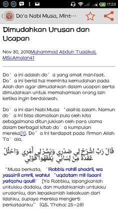 Continue reading http://rumaysho.com/amalan/doa-nabi-musa-minta-dimudahkan-urusan-dan-ucapan-1425