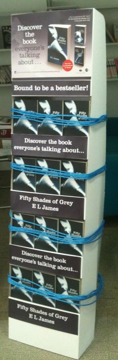 Oh my...we love this display! The rope is excellent. Our inner bookseller approves.