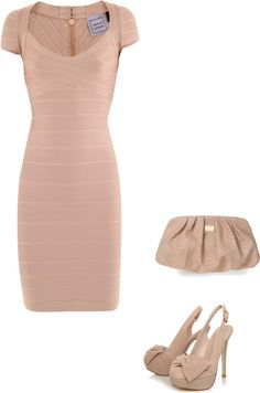 """Herve Ledger Dress"" by adriana-boehm on Polyvore"