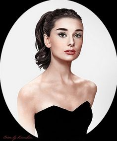 Simply beautiful colourised images of Audrey Hepburn My fashion icon. Audrey Hepburn Mode, Aubrey Hepburn, Audrey Hepburn Photos, Audrey Hepburn Makeup, Old Hollywood Glamour, Classic Hollywood, Cool Winter, Actrices Hollywood, Art Graphique