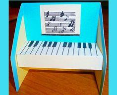 Handmade Origami Little Piano