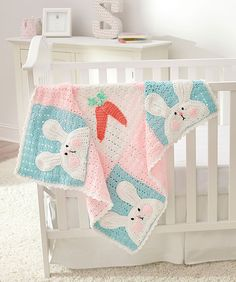 Are you looking for a spring blanket for a special baby or toddler? Look no further than this super adorable blanket designed by the Queen of crochet whimsy, Michele Wilcox.    Michele has designed this gorgeous blanket in new Red Heart Baby Hugs Medium yarn. I've used the Light version and I love t