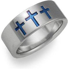 Men's Christian Wedding Bands