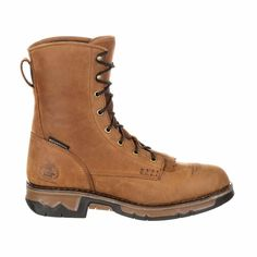 "Georgia Boot GB00114 Carbo-Tec Waterproof 8"" Work Lacer from onlineworkboots.com"