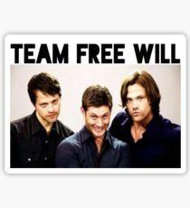 Supernatural - Team Free Will Sticker