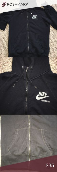 Women's Nike hoodie In excellent used condition. Perfect for athletics or Dailey wear. Nike Sweaters Cowl & Turtlenecks