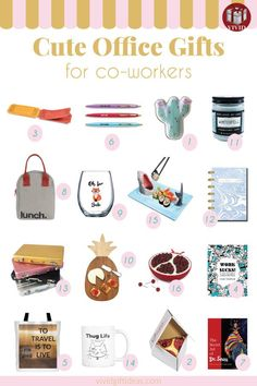 Superbe Holiday Gift Guide: Best Christmas Gifts For Coworkers 2018