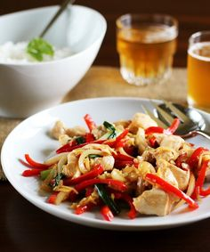 This gingery chicken stir-fry is home cooking at its best: quick and simple to prepare, with a punch of flavor that manages to be both exciting and deeply comforting. Make it once and you may never call for Thai take-out again.