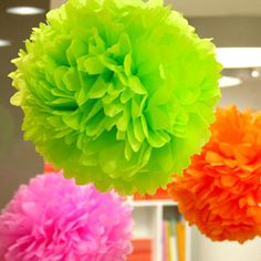 1pcs 4inch Tissue Paper Pom Poms Flower Balls Display Flower Wedding Party Home Living Room Decoration Cheap Pompoms-in Decorative Flowers & Wreaths from Home & Garden on Aliexpress.com | Alibaba Group